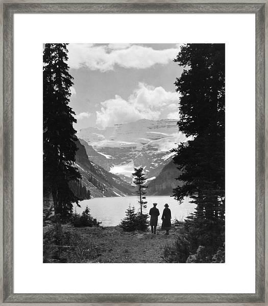 Lake Louise Framed Print