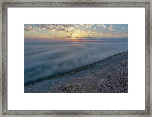 Lake Michigan Overlook 14 Framed Print