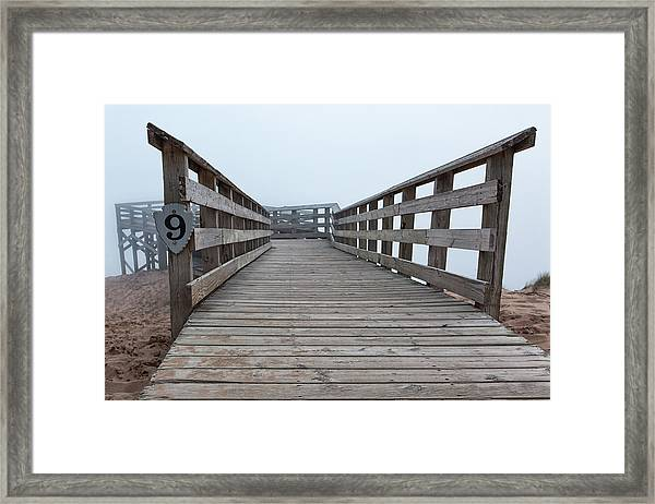 Lake Michigan Overlook 16 Framed Print