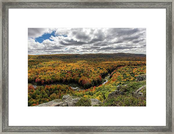 Lake Of The Clouds 10 Framed Print