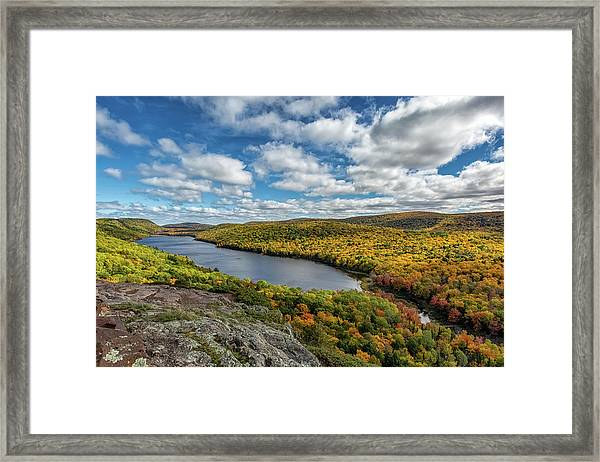 Lake Of The Clouds 2 Framed Print
