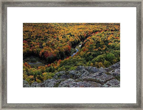Lake Of The Clouds 7 Framed Print