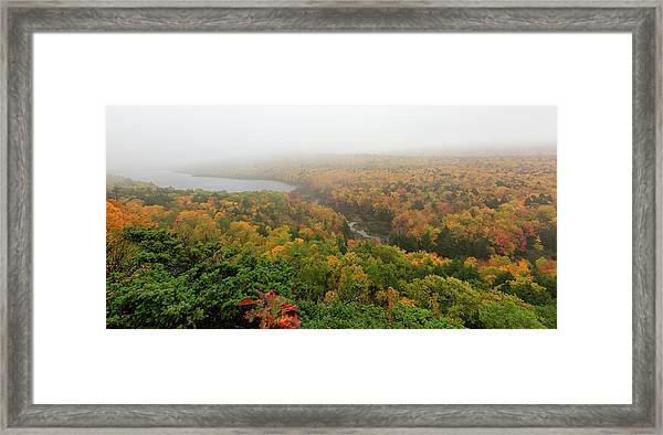Lake Of The Clouds 8 Framed Print