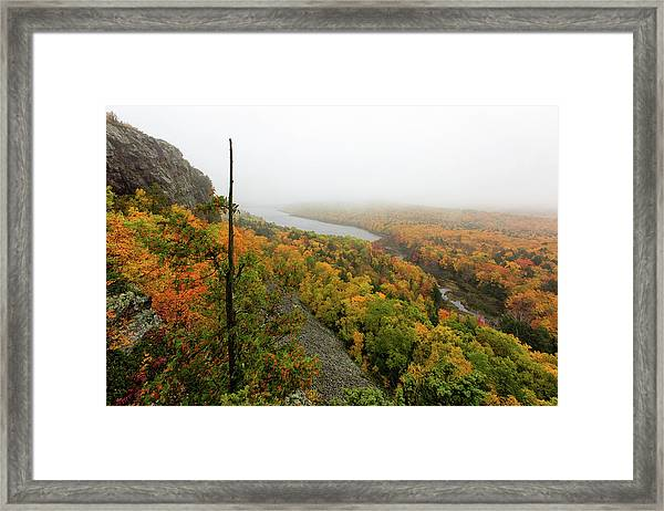 Lake Of The Clouds 9 Framed Print