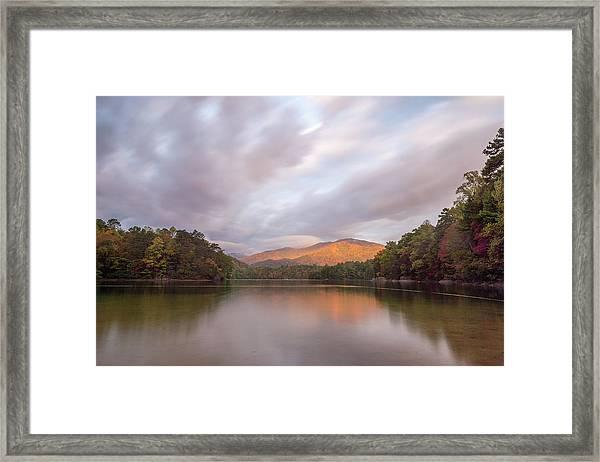 Lake Santeetlah Sunrise Framed Print