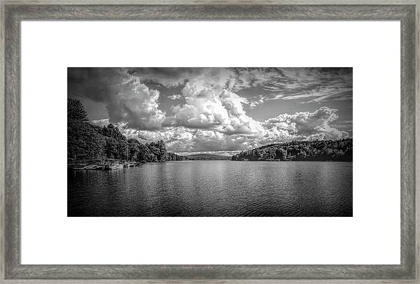 Lake Sunapee Framed Print