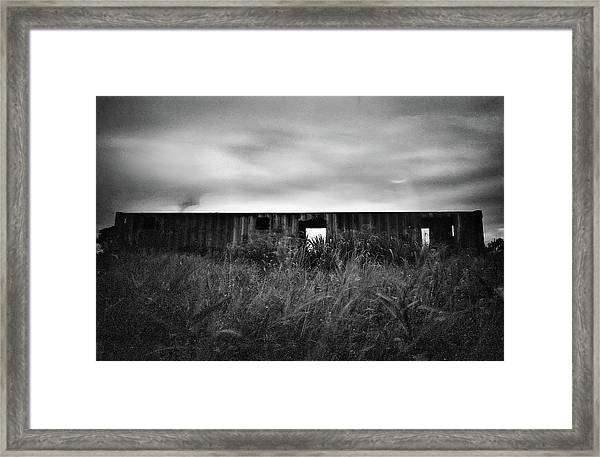 Land Of Decay Framed Print