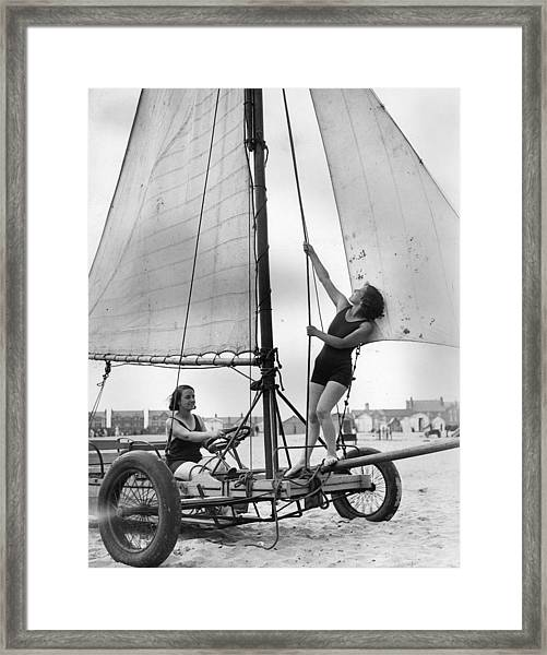 Landlubbers Boat Framed Print