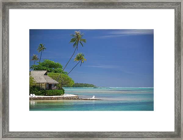 Landscape Photograph Of A Beautiful Framed Print