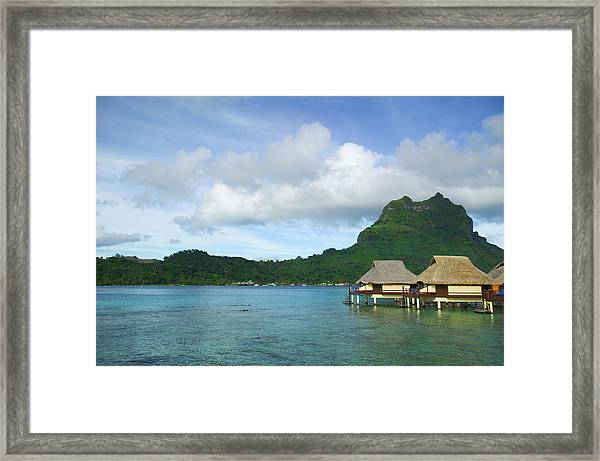 Landscape Photograph Of A Series Of Framed Print