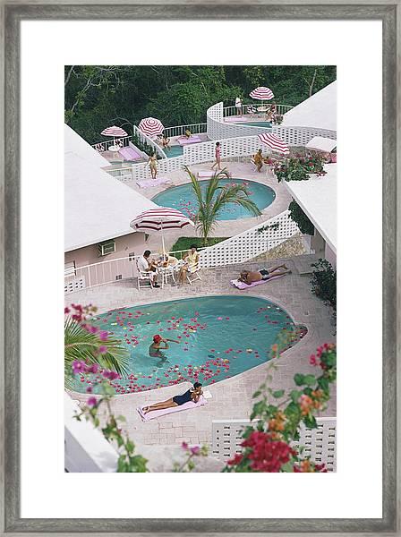 Las Brisas Hotel Framed Print