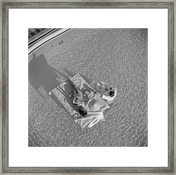Las Vegas Luxury Framed Print
