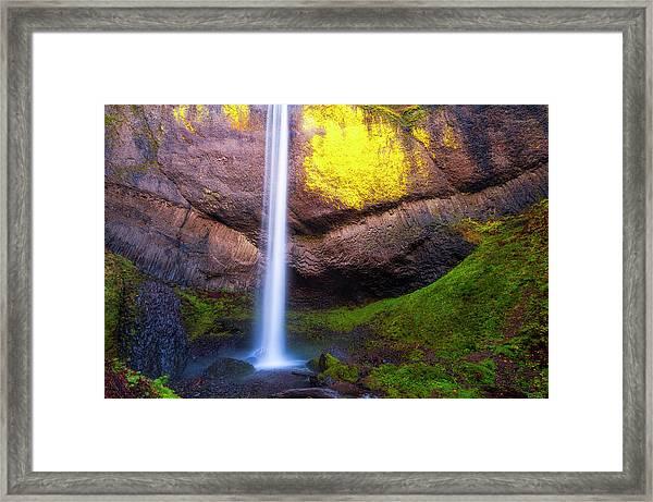Latourell Falls  Framed Print