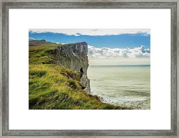 Latrabjarg Cliffs, Iceland Framed Print