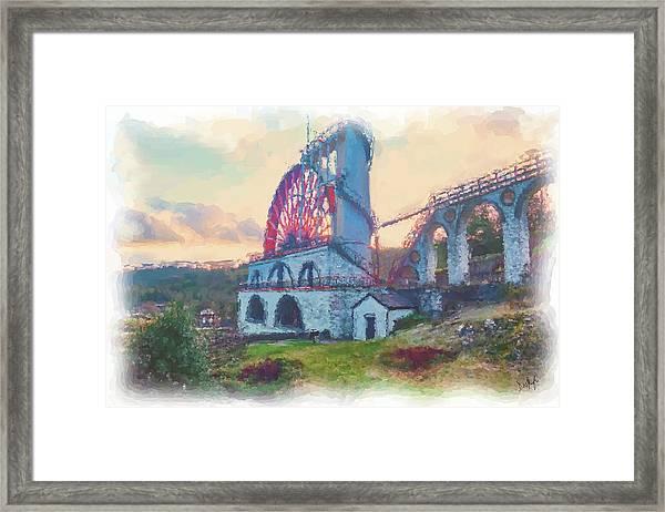Laxey Wheel 2 Framed Print