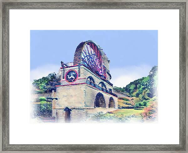 Laxey Wheel 6 Framed Print
