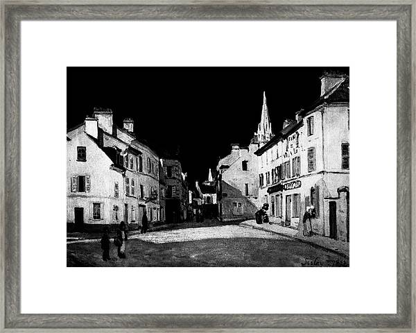 Layered 7 Sisley Framed Print