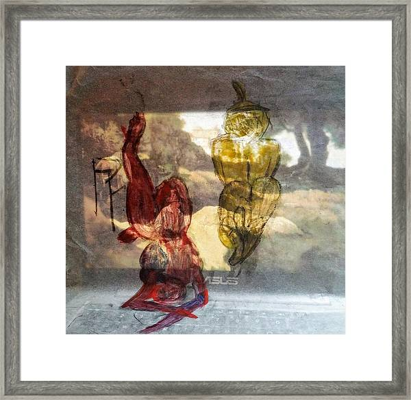 Laying Your Psychopathic Soul Bare Framed Print