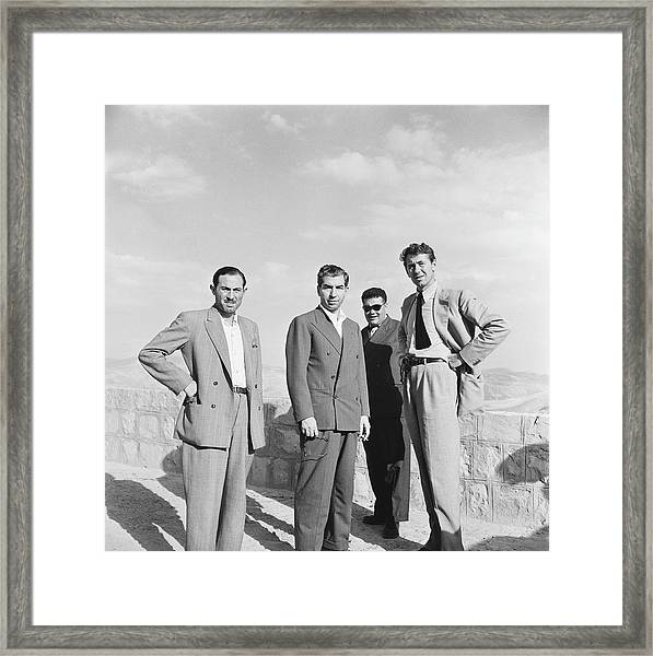 Lcku Luciano And Slim Framed Print