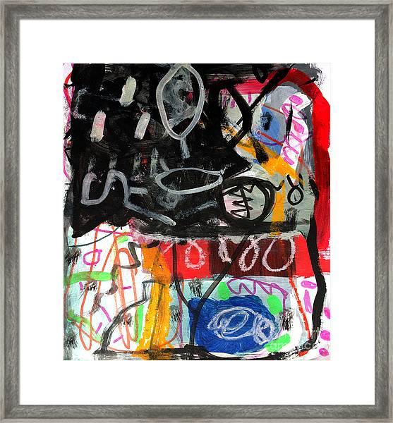 Le Jour Et La Nuit Framed Print