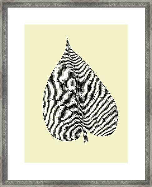 Leaf I Framed Print