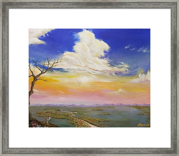 Learning The Hard Way Framed Print