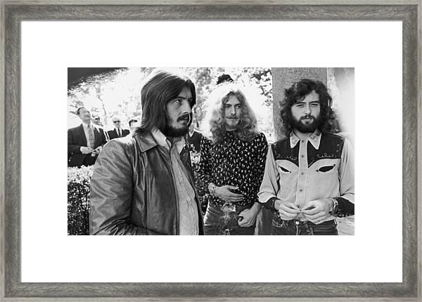 Led Zeppelin Framed Print by Popperfoto