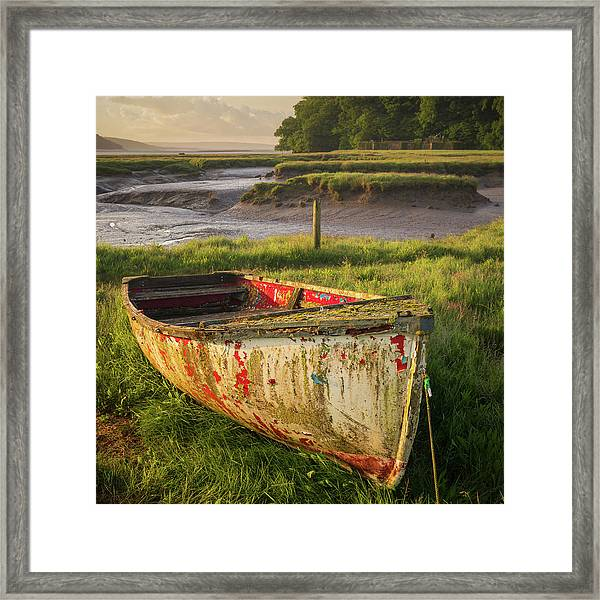 Framed Print featuring the photograph Left To The Elements by Elliott Coleman