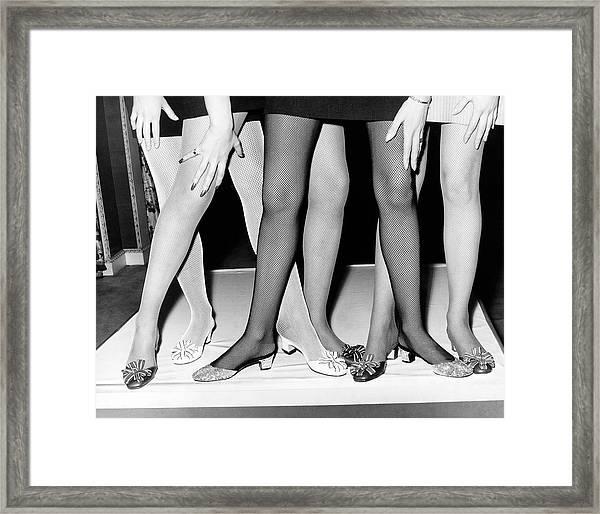 Legging It Framed Print