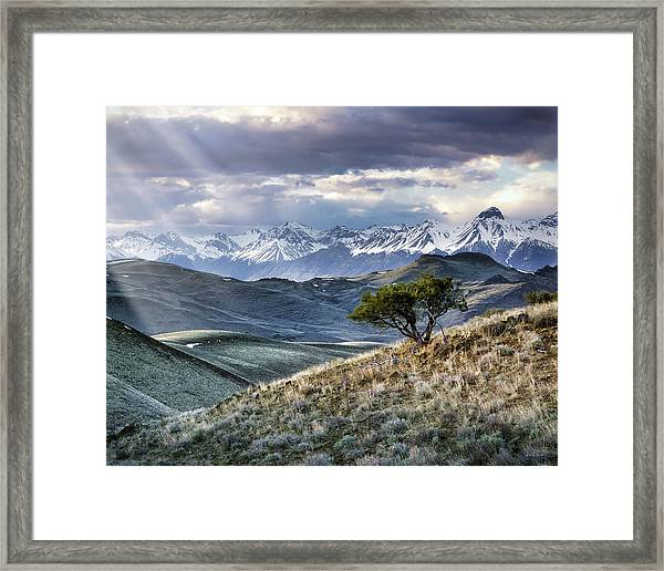 Lemhi Light Framed Print