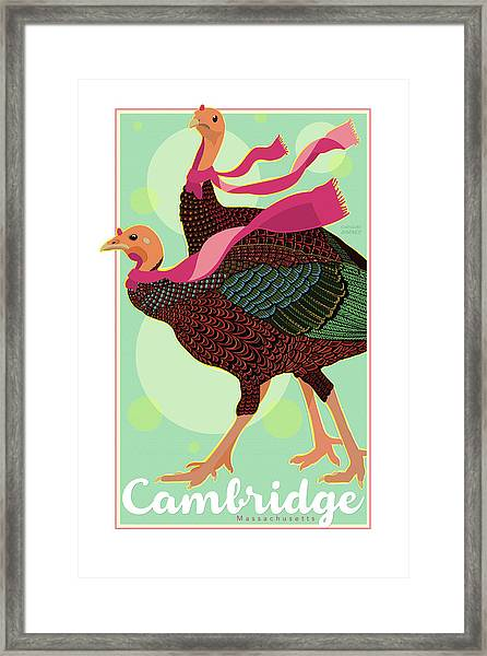 Les Foulards De Cambridge Framed Print