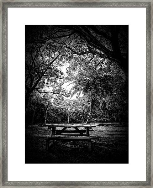 Let The Light In Framed Print