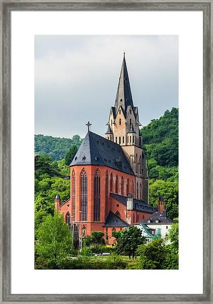 Liebfrauenkirche Oberwesel Framed Print