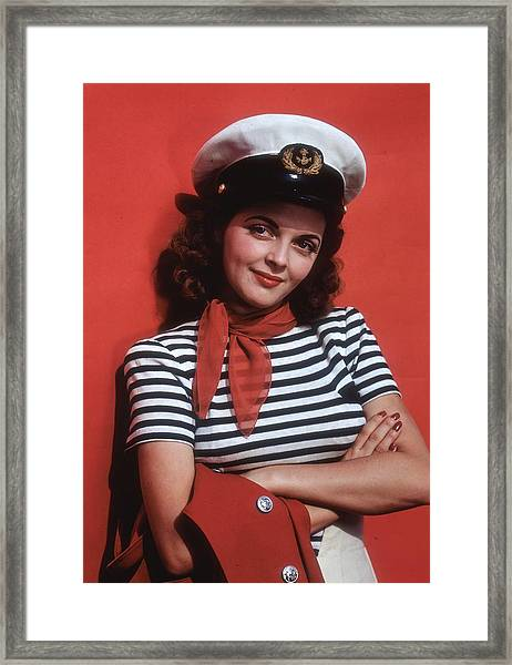 Life On The Seas Framed Print