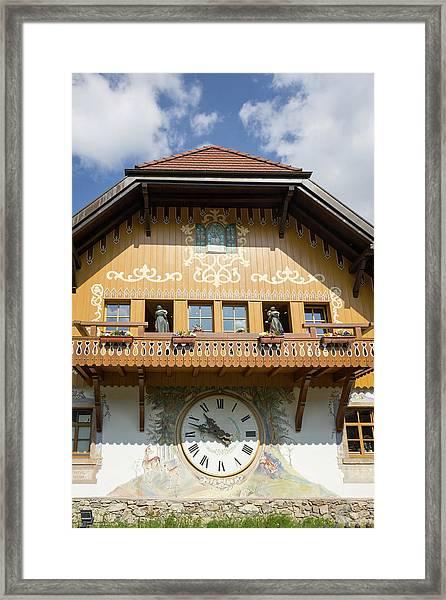 Life Size Cuckoo Clock Framed Print