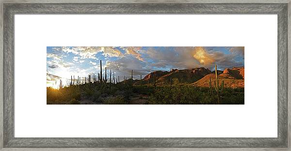 Framed Print featuring the photograph Light Of The Southwest by Chance Kafka