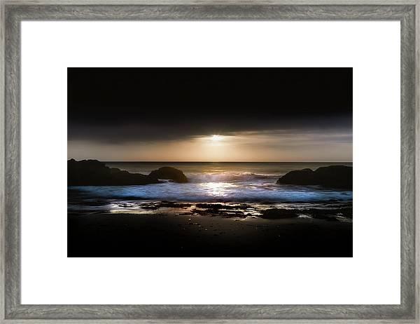 Light Tide Framed Print