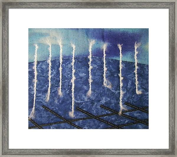 Lines Of Text Framed Print