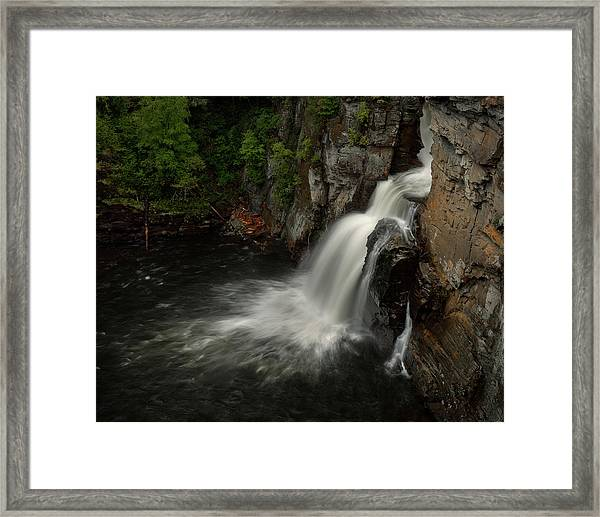 Linville Falls - Linville Gorge North Carolina Framed Print