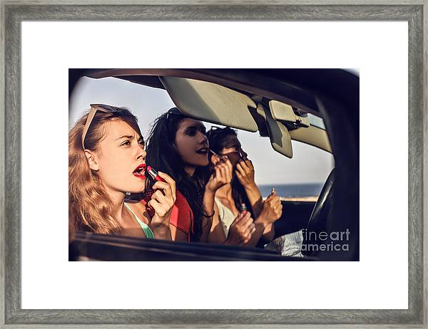 Lipsticks Framed Print