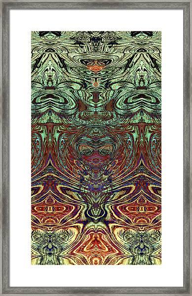 Liquid Cloth 2 Framed Print
