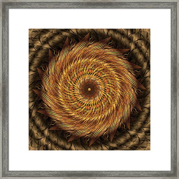 Listen To The Wind Framed Print