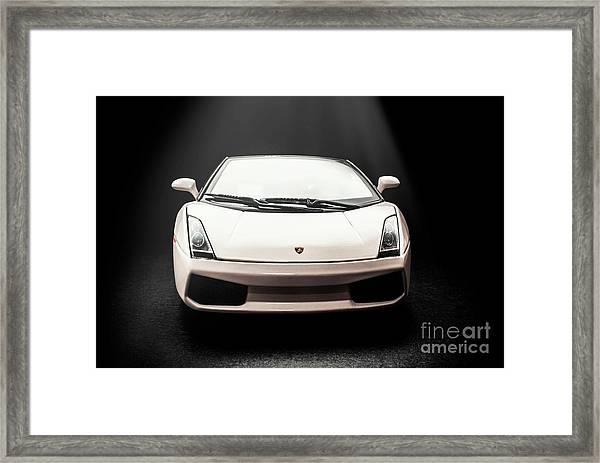 Lit Luxury Framed Print