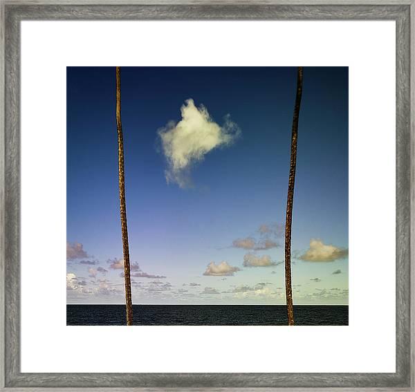 Little Cloud Framed Print