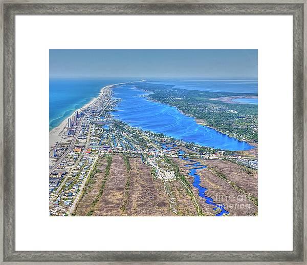 Little Lagoon 7489 Framed Print