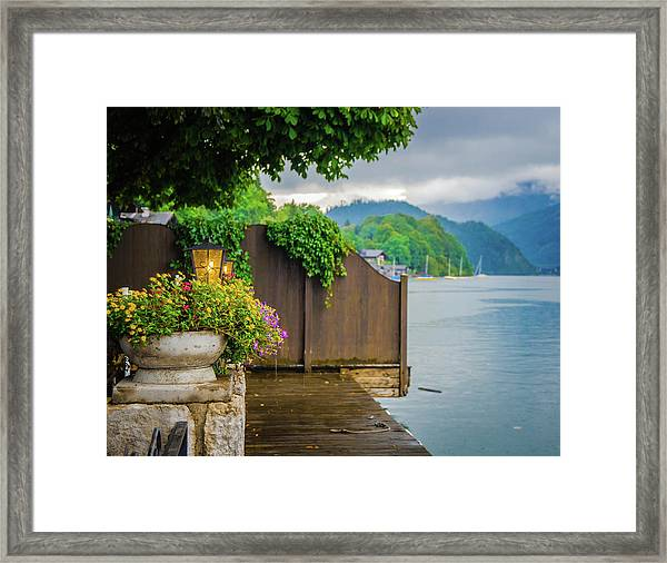 Little Pier Framed Print