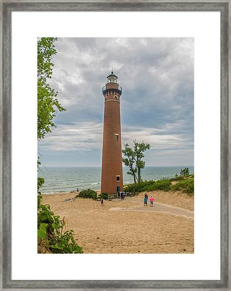 Little Sable Point Lighthouse Framed Print
