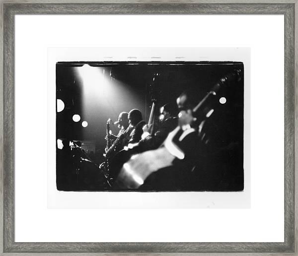 Live In New York Framed Print