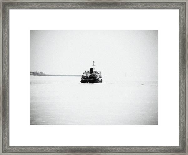 Liverpool. The Mersey Ferry 'royal Iris' Framed Print