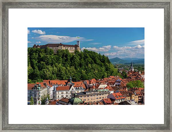 Ljubljana Slovenia Framed Print by Keith Mcinnes Photography